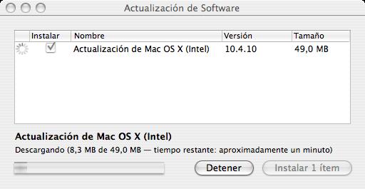 Actualizando Mac OS X