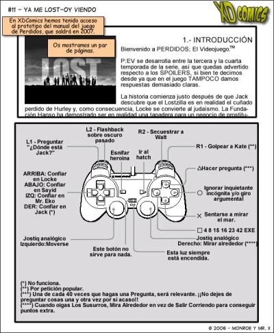 Lost  (Perdidos) el vídeo juego