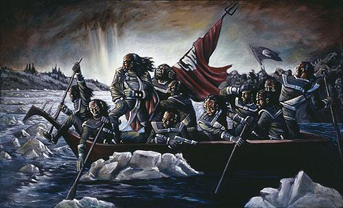 Klingons cruzando Delaware