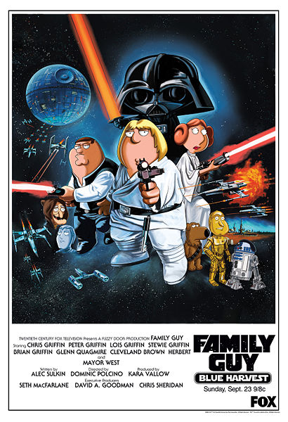 Star Wars, Family Guy Blue Harvest