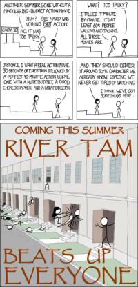 Películas de acción con River Tam