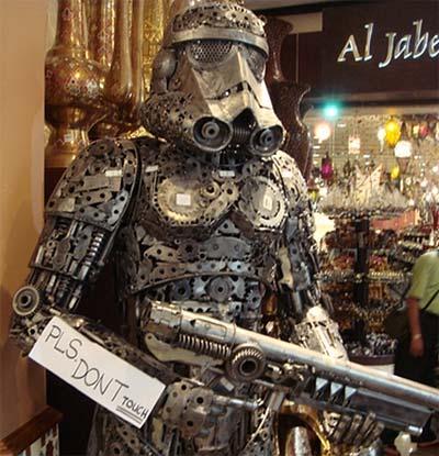 Steampunk stormtropper - Steampunk soldado imperial