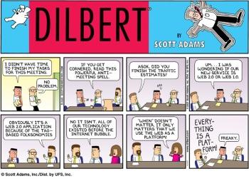 Esquiva la pregunta de tu jefe en una reunión de trabajo