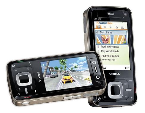 N81 con vídeo juegos