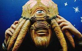 Máscara Dalek humano