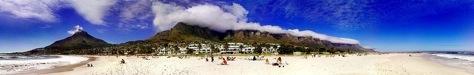 Foto de playa hecha con el N95