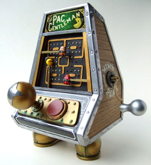 steampunk-pac-man