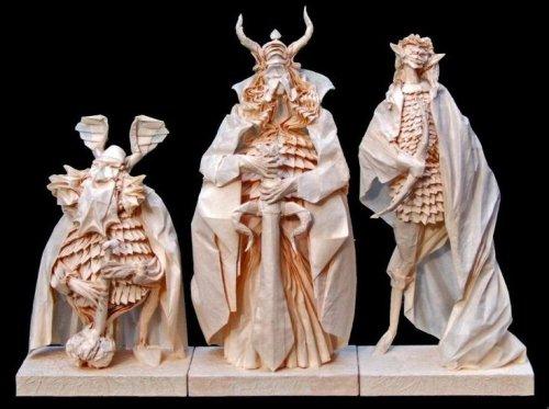 El señor de los anillos origami