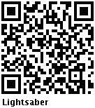 Código de barras de Lightsabre