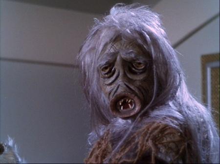 El mounstruo de la sal de Star Trek