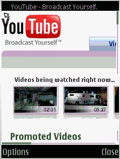 N95 con youtube