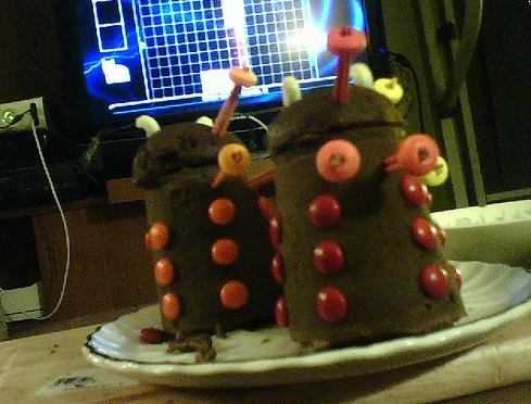 Fudge Daleks