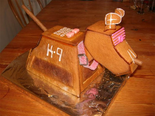 K9 gingerbread