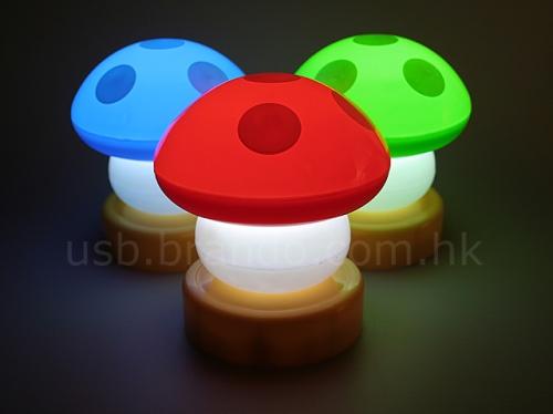 USB Mushroom lamps