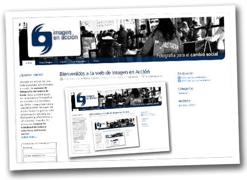 Blog imagen en acción