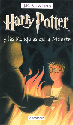 La portada del séptimo libro de Harry Potter - Harry Potter y las Reliquías de la Muerte