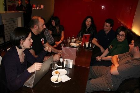 Asistentes al Beers & Blogs & Grelos de Santiago de Compostela