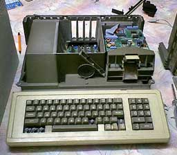 Interior de un Apple III