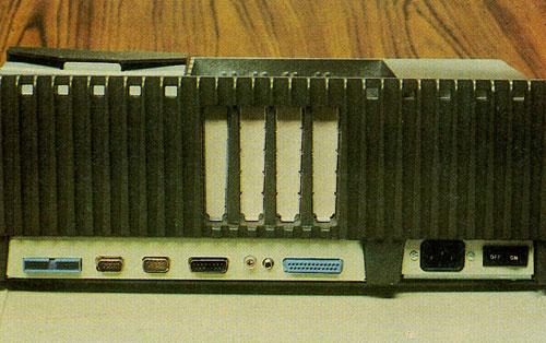 Parte de atrás del Apple III