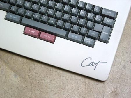 teclado del Canon Cat