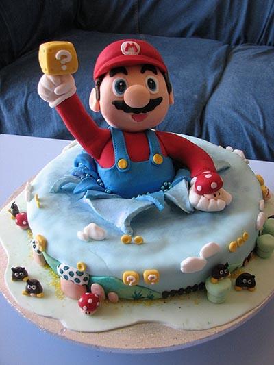 Pasteles de Super Mario Bross