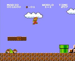 Super Mario Bros en la NES