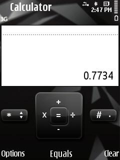 Calculadora para móviles S60