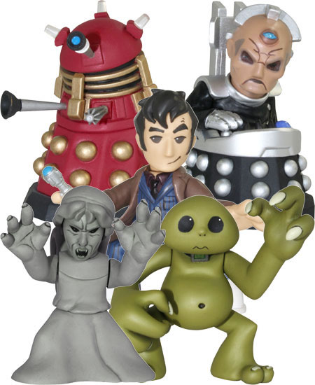 Figuras de acción del Doctor Who