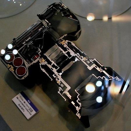 Nikon D3 por dentro