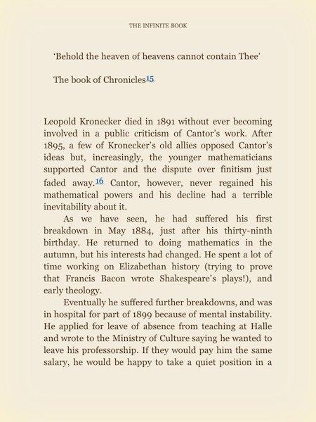 Leyendo un libro en el iPad